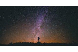 Hvězdné nebe s LED diodami
